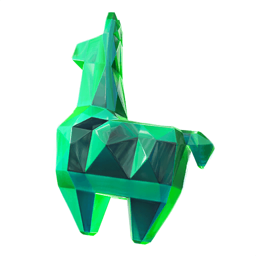 Crystal Llama Back Bling icon