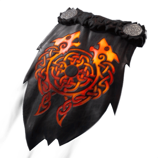 Molten Crested Cape Back Bling icon