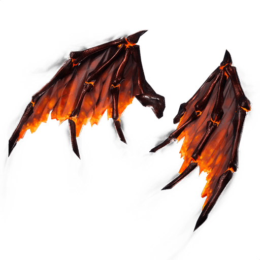 Molten Valkyrie Wings Back Bling icon