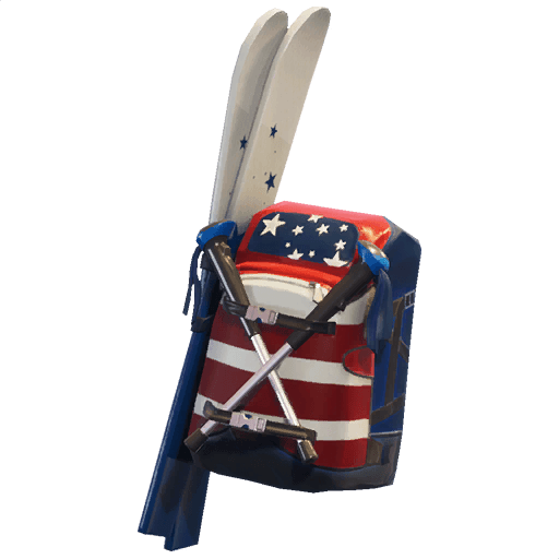 Mogul Ski Bag (USA) Back Bling icon
