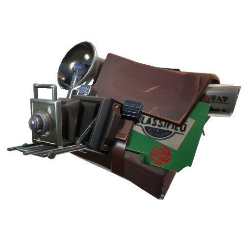 Evidence Bag Back Bling icon