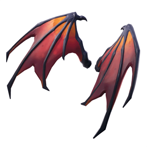 Malcore Wings Back Bling icon