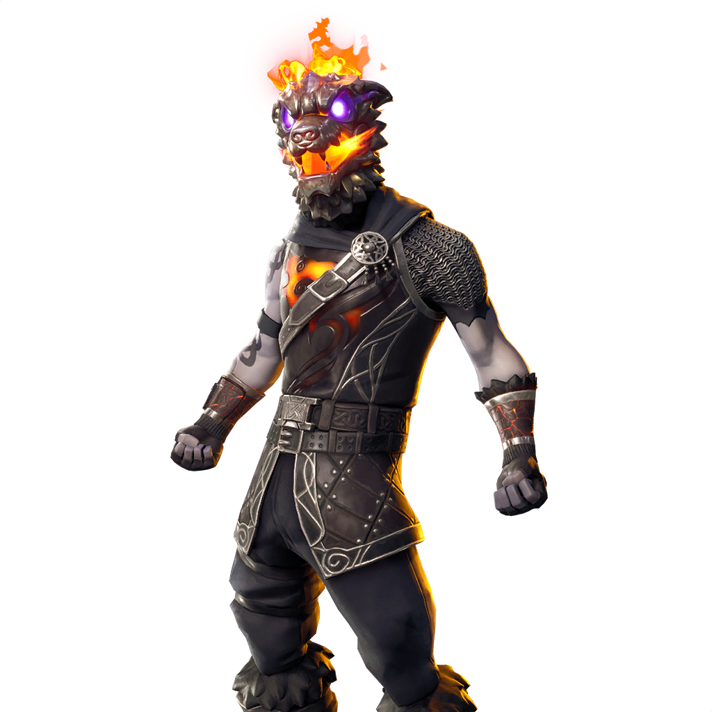 Molten Battle Hound Outfit Featured image