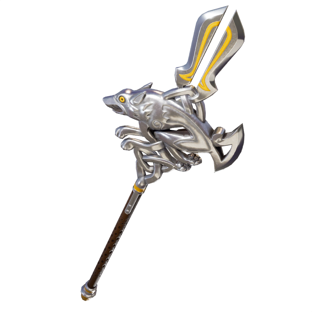 Silver Fang Pickaxe Featured image