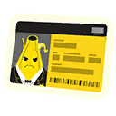Banana Badge Emoji icon