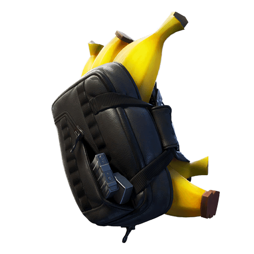 Banana Briefcase Back Bling icon