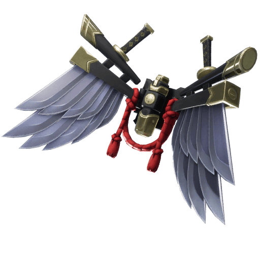 Bladed Wings Back Bling icon