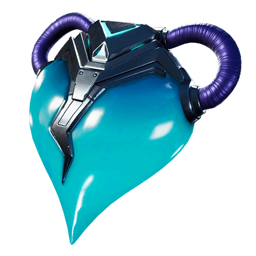 Blue Heart Back Bling icon