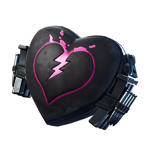 Broken Heart Back Bling icon