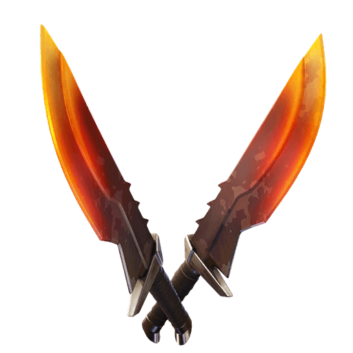 Burning Blades Pickaxe icon