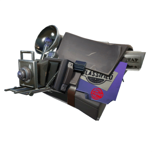 Confidential Case Back Bling icon