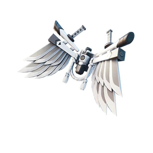 Corrupted Bladed Wings Back Bling icon