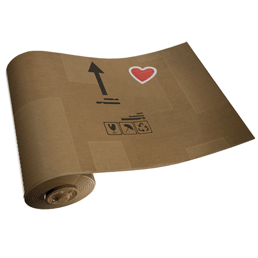 Crafted Cardboard Wrap icon