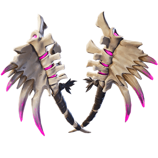 Dark Dino Bones Pickaxe icon