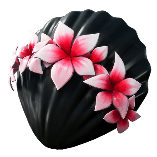 Floral Shell Back Bling icon