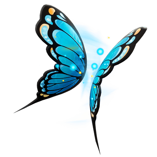 Flutter Wings Back Bling icon