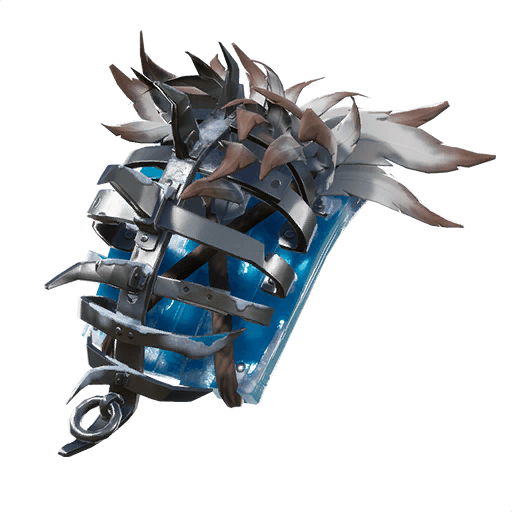Frozen Iron Cage Back Bling icon