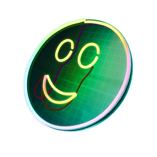 Glow Grin Back Bling icon