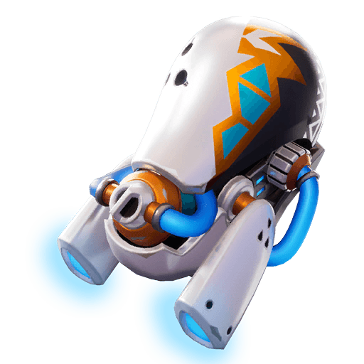 Glow Jet Back Bling icon