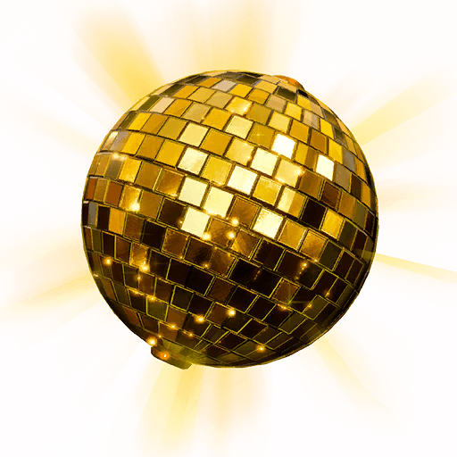 Golden Disco Back Bling icon