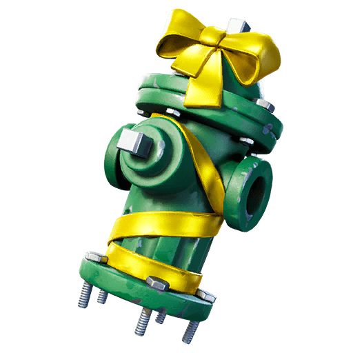 Holiday Hydrant Back Bling icon