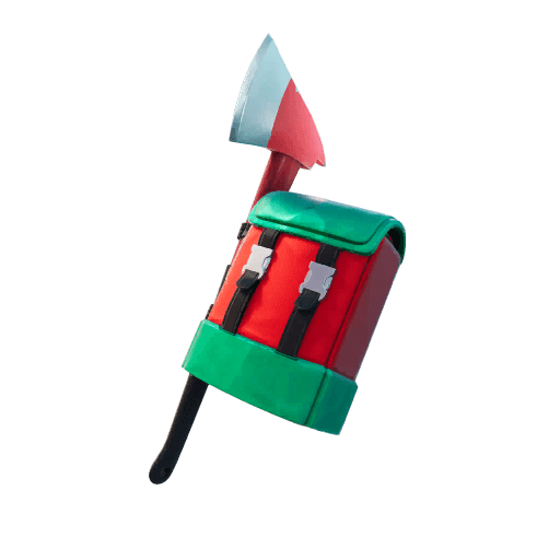 Holly Jolly Hatchet Back Bling icon