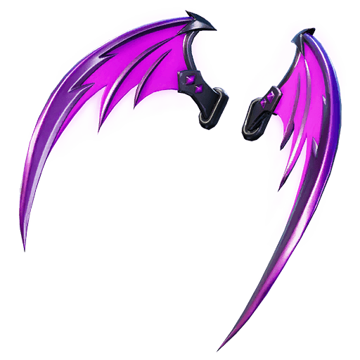 Indigo Wings Back Bling icon