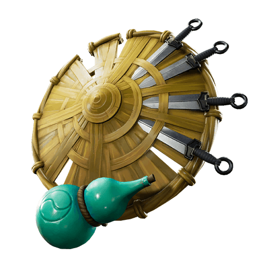 Kunai Shield Back Bling icon