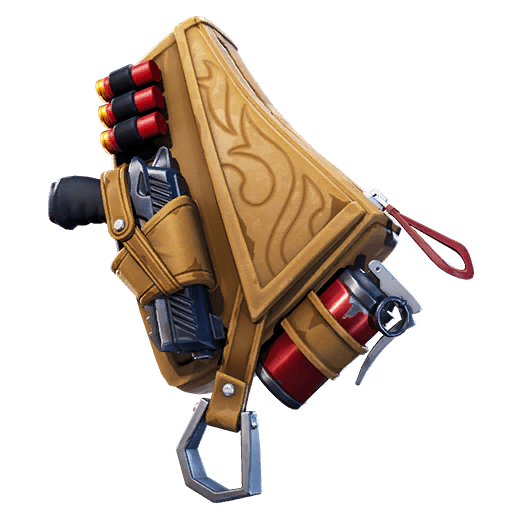 Leather Lugger Back Bling icon