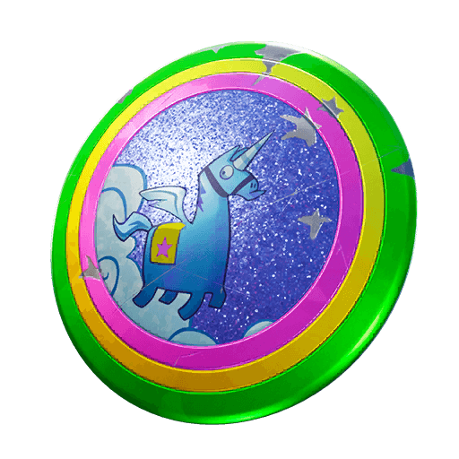 Llamacorn Shield Back Bling icon