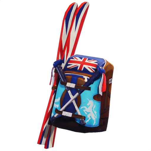 Mogul Ski Bag (GBR) Back Bling icon