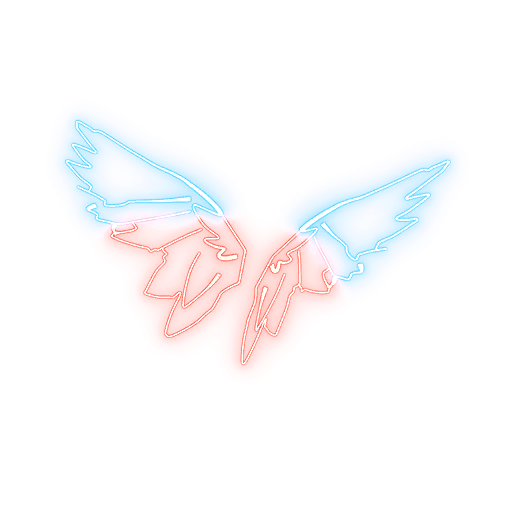 Neon Wings Back Bling icon