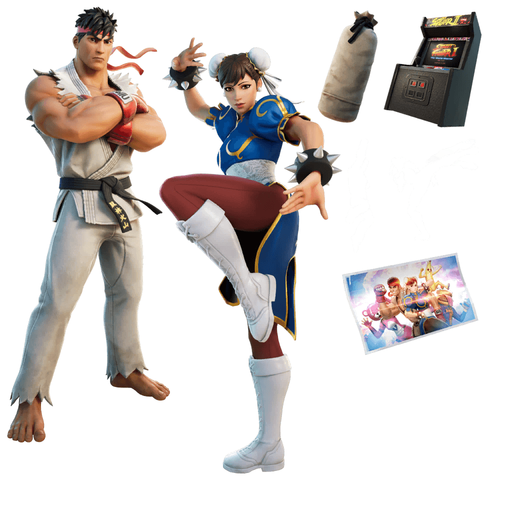 Ryu & Chun-Li Bundle icon