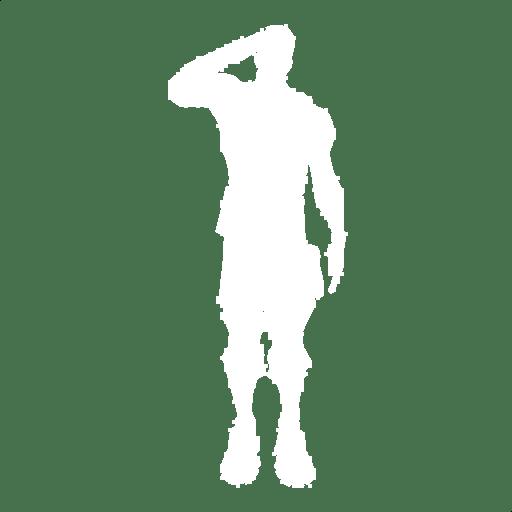 Salute Emote icon