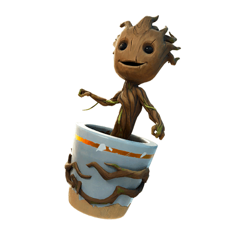 Sapling Groot Back Bling icon