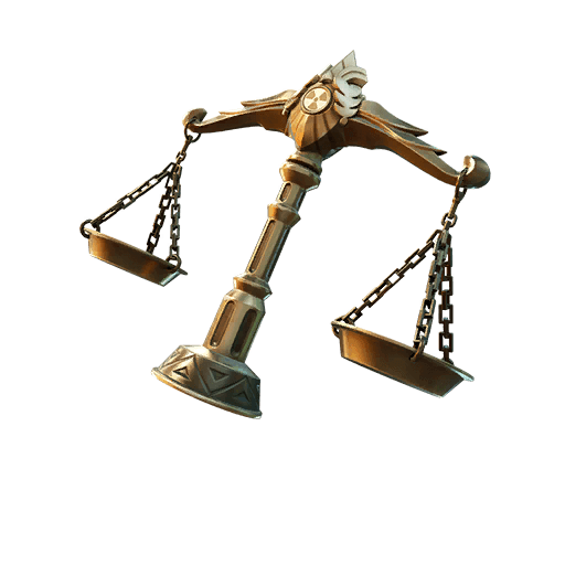 Scales of Justice Back Bling icon