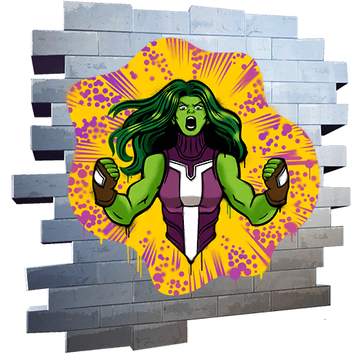 SHE-HULK SMASH Spray icon