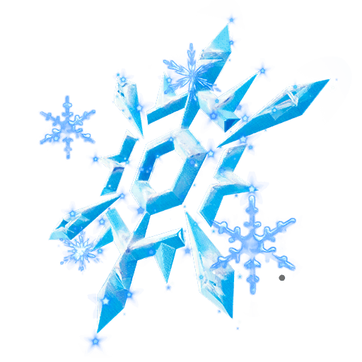 Snow Crystal Back Bling icon