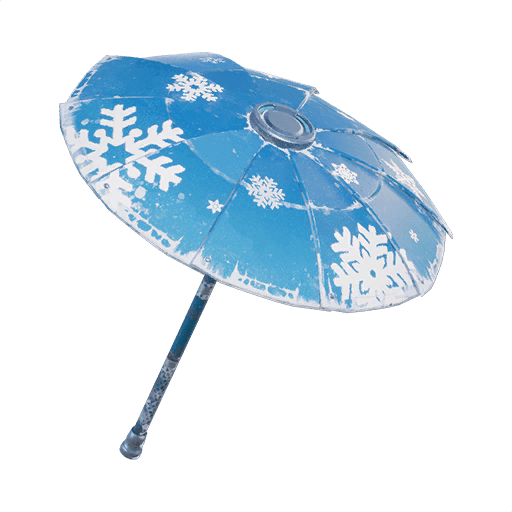 Snowflake Umbrella Umbrella icon