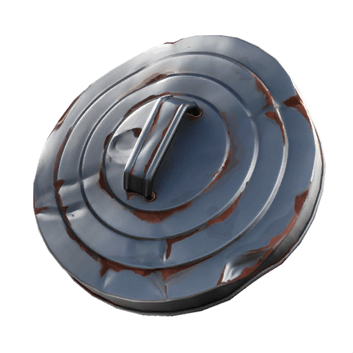 Trash Lid Back Bling icon