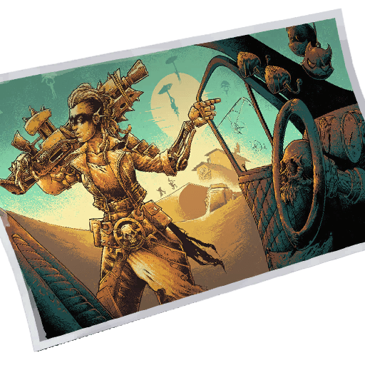 Warrior of the Wastes Loading Screen icon