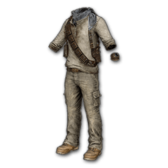 PUBG Uncharted Nathan Drake Desert Outfit skin icon