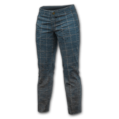 Windowpane Check Pants (Blue) icon