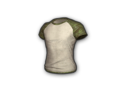 PUBG Green Pattern T-Shirt skin icon