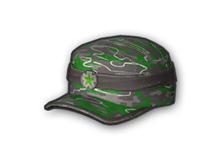 PUBG Green Pattern Cap skin icon